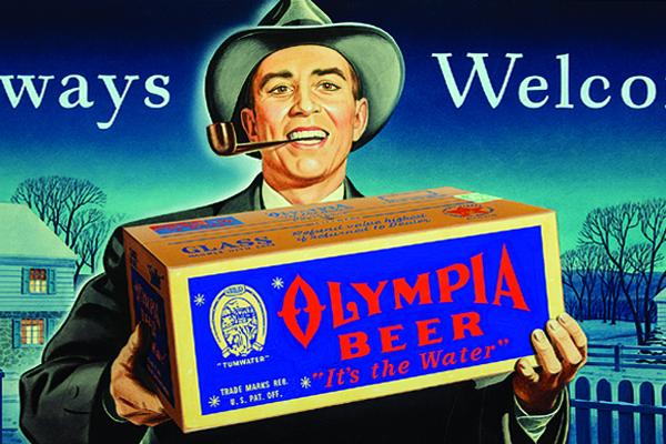 "Olympia Beer advertisement: ""Always Welcome"""